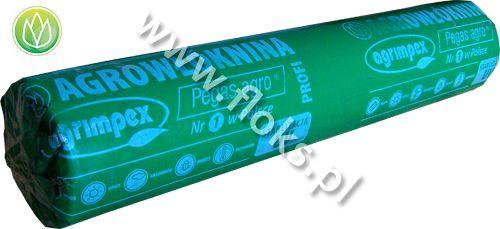 Włóknina biała wiosenna Pegas Agro rolka 100m P-19 1,60m Agrimpex