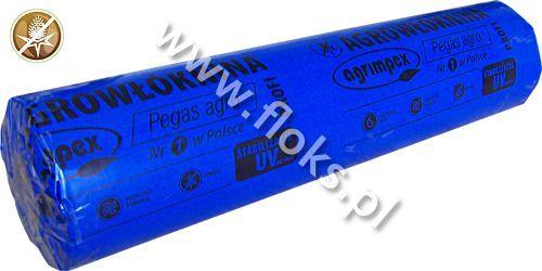 Włóknina czarna Pegas Agro rolka 100m P-50 0,80m Agrimpex
