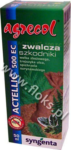 Actellic 500EC zwalcza wołka zbożowego 50ml Agrecol