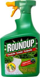 Roundup Hobby AL spray 1L podjazdy i ścieżki Scotts