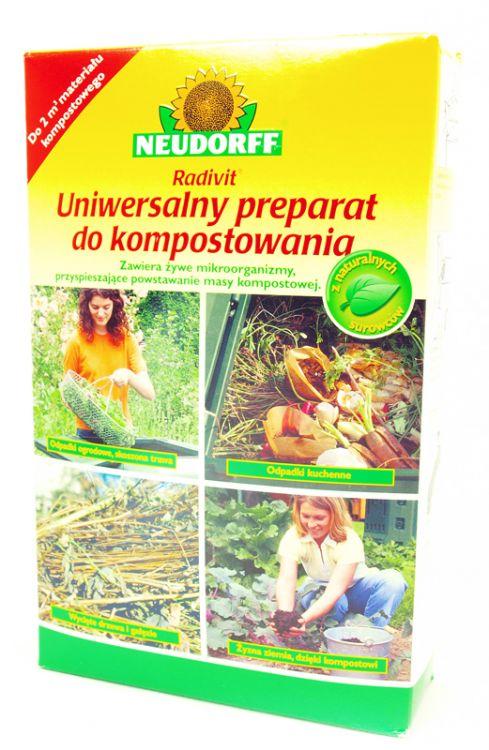 Radivit uniwersalny preparat do kompostowania 1kg Neudorff