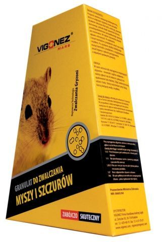 Granulat do zwalczania myszy i szczurów 500g Vigonez