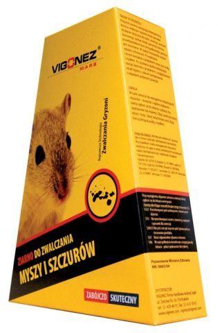 Ziarno do zwalczania myszy i szczurów 1kg Vigonez