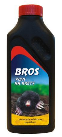 Płyn na krety 500ml BROS