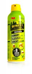 Ultrathon Spray repelent na komary i kleszcze 8h 177ml 3M