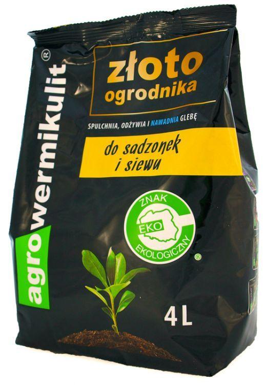 Złoto Ogrodnika Do Siewu I Sadzenia 4l Vermiculite