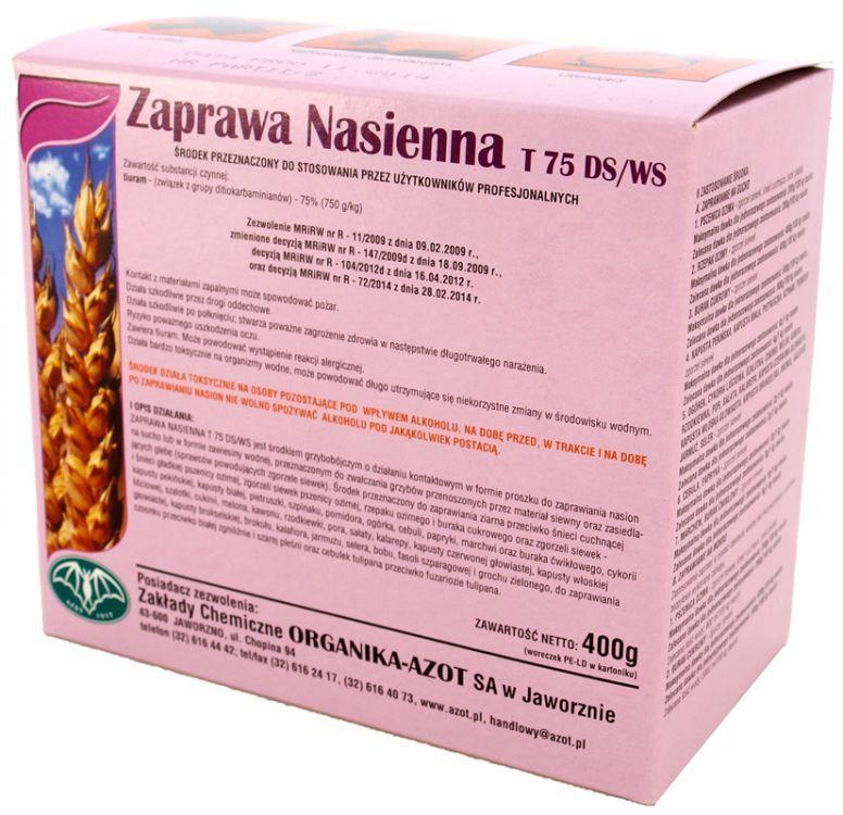 Bardzo dobry Zaprawa nasienna T 75 DS/WS Synthos Agro | Floks.pl - sklep ogrodniczy IE72