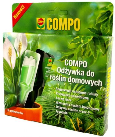 Green Power do kwiatów domowych 5x30ml Compo