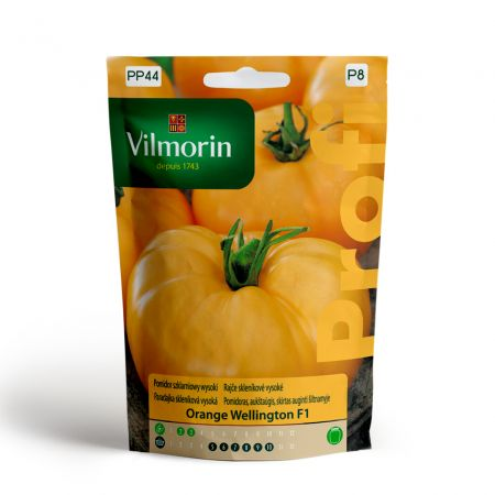 Pomidor szklarniowy wysoki Orange Wellington F1 100mg Vilmorin
