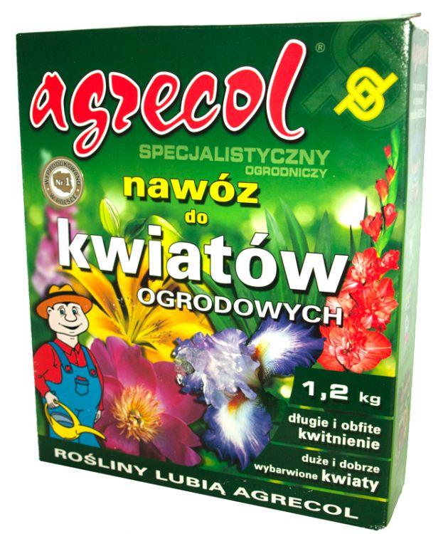 Nawóz 12kg Do Kwiatów Ogrodowych Agrecol