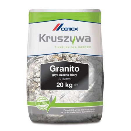 Grys granitowy Granito 8/16mm Cemex