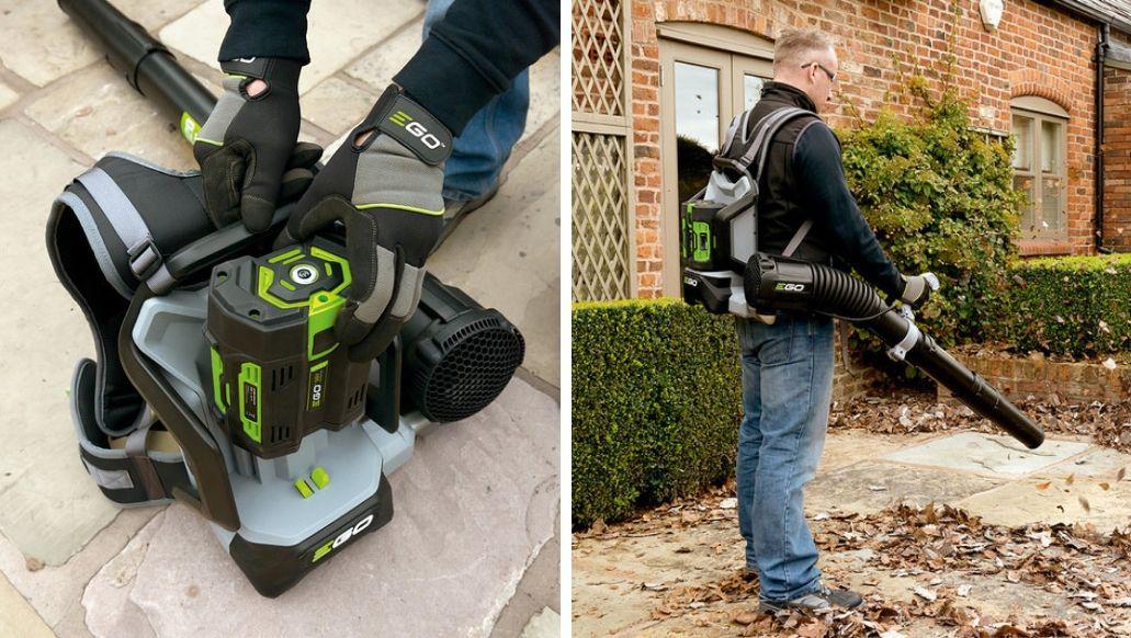 Dmuchawa plecakowa LB6002 EGO Power+ w zestawie z baterią i ładowarką