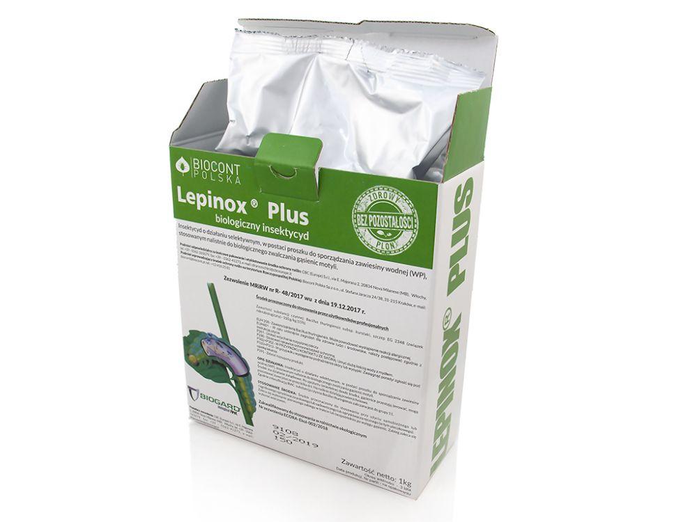 Lepinox Plus zwalcza szkodniki bukszpanów 1kg Biocont