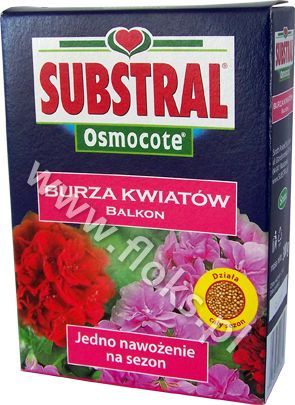 Nawóz Burza Kwiatów do Pelargonii Osmocote 300g SUBSTRAL