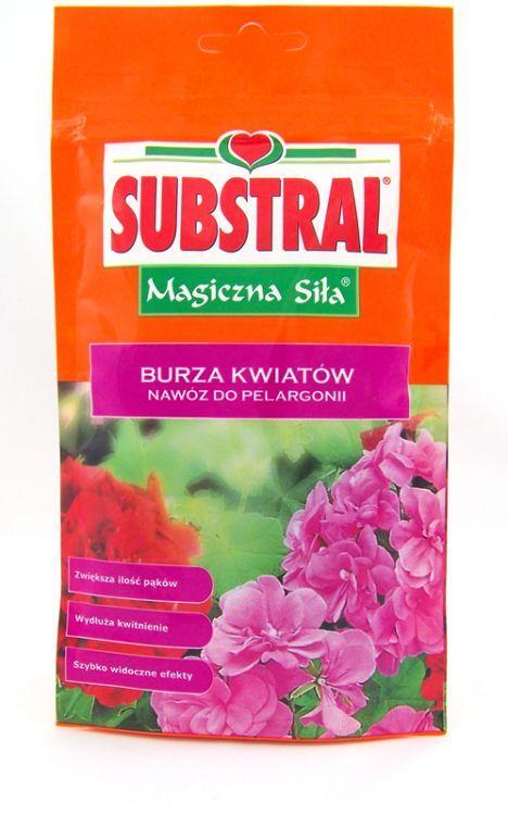 Nawóz Do Pelargonii Burza Kwiatów Magiczna Siła 200g Substral